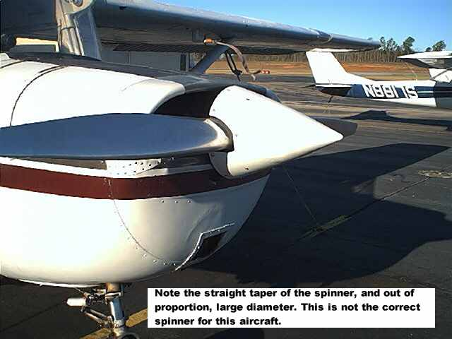 Cessna 150 propellers and spinners